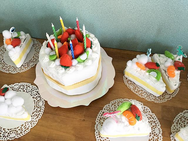 製作 ケーキ